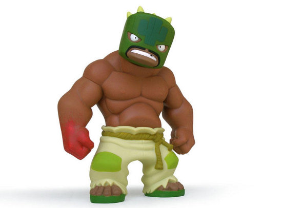 Muttpop Releasing New Lucha Libre Figure