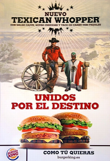Burger King Lucha Libre Advertisement