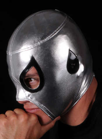 AXEL Commercial Silver Mask - Official Product