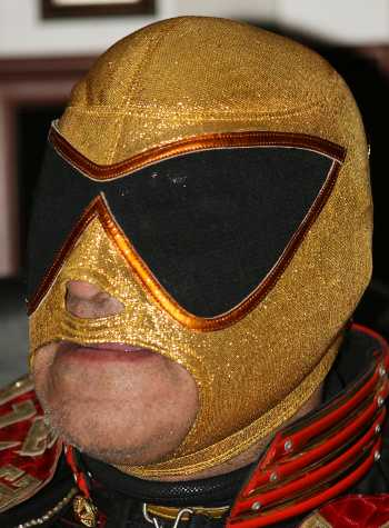 Tinieblas Pro-Grade RETRO Gold Mask - Official Product